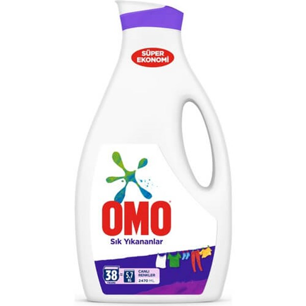 OMO SIVI 2470ML SIK YIKANANLAR COLOR*6