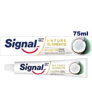 Signal Diş Macunu 75ml Nature Elements Coco White Complete8